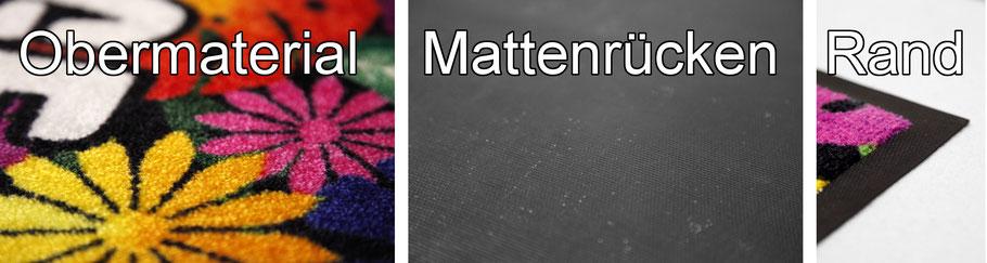 Logomatten Logomatte individuell bedruckt bedrucken selbst fußmatten eingangsmatten schmutzfangmatten matt logo design image