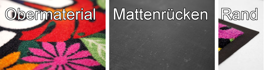 Logomatten Logomatte individuell bedruckt bedrucken selbst fußmatten eingangsmatten schmutzfangmatten matt logo design smart