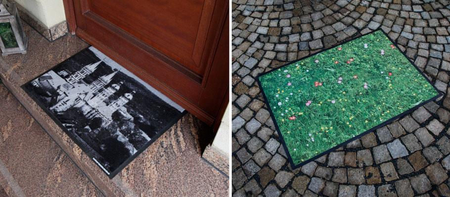 Fussmatte Fußmatte  individuell bedruckt bedrucken selbst fußmatten eingangsmatten schmutzfangmatten matt logo design image 1amatte 1amatten automatten 1amatte.com 1amatten.com