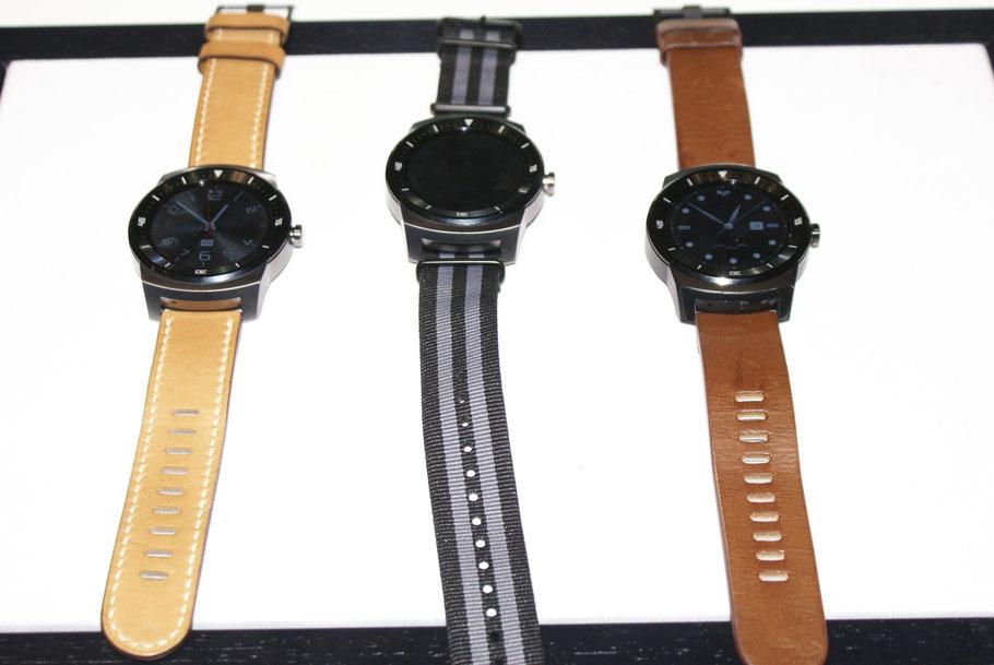 Die schmucke Smartwatch von LG Electronics