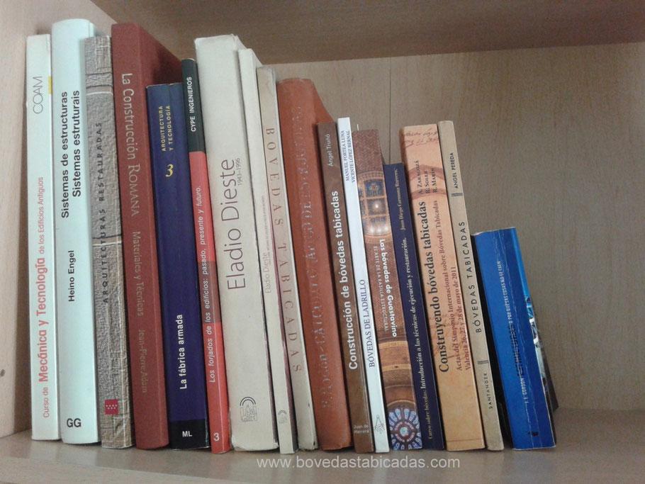 Biblioteca personal sobre bóvedas tabicadas www.bovedastabicadas.com