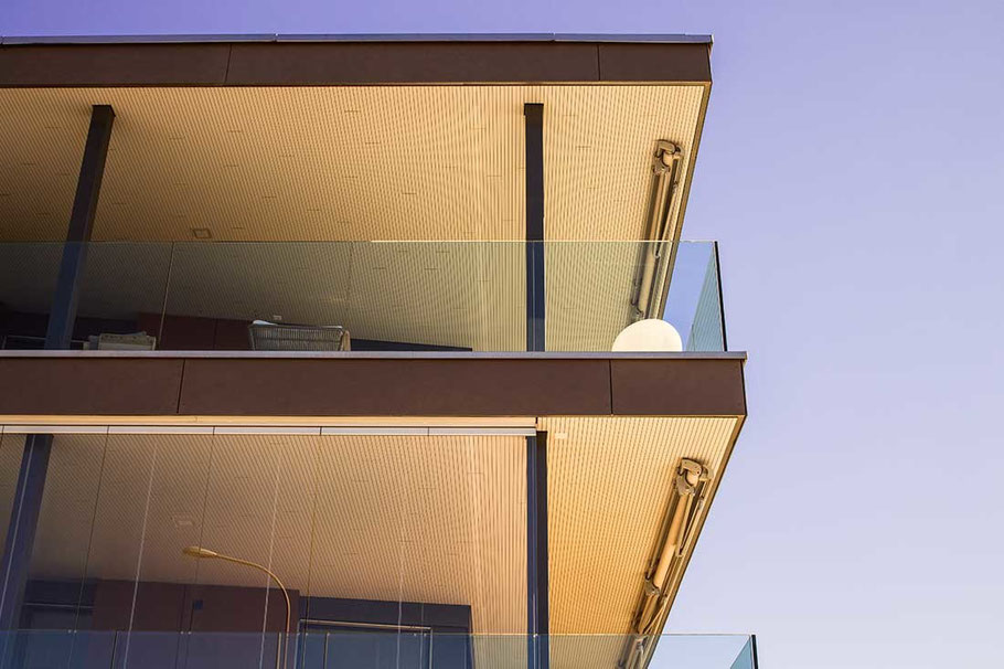 Immobilienfotos - Balkone von Luxuswohnungen