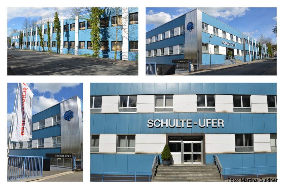 Vorher: die alte Fassade in Blau und Silber aus den 60er Jahren