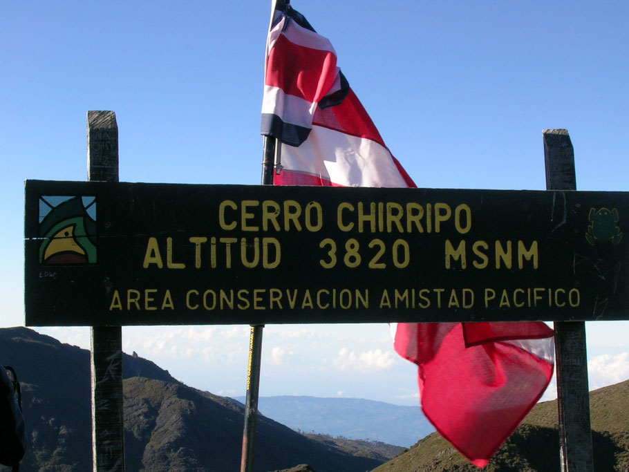 It's named for its most prominent feature, Cerro Chirripó, which at 3,820 metres (12,530 ft) is the highest mountain Costa Rica's