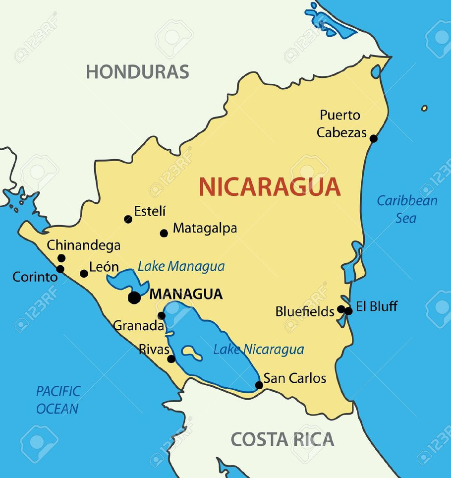 Nicaragua Has Numerous Natural Attractions Like A Range Of Active And Inactive Volcanoes With Impressive Flora Fauna Also Beautiful Beach