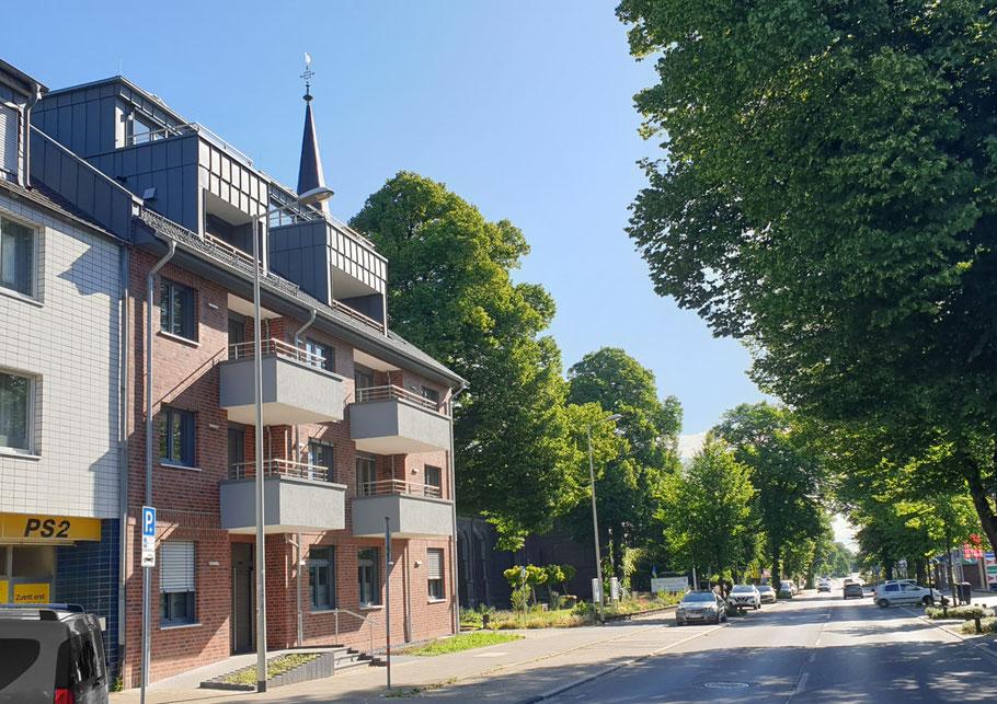 Martin Schnitzler Architekten Architekt Frechen OVE Neubau Mehrfamilienwohnhaus