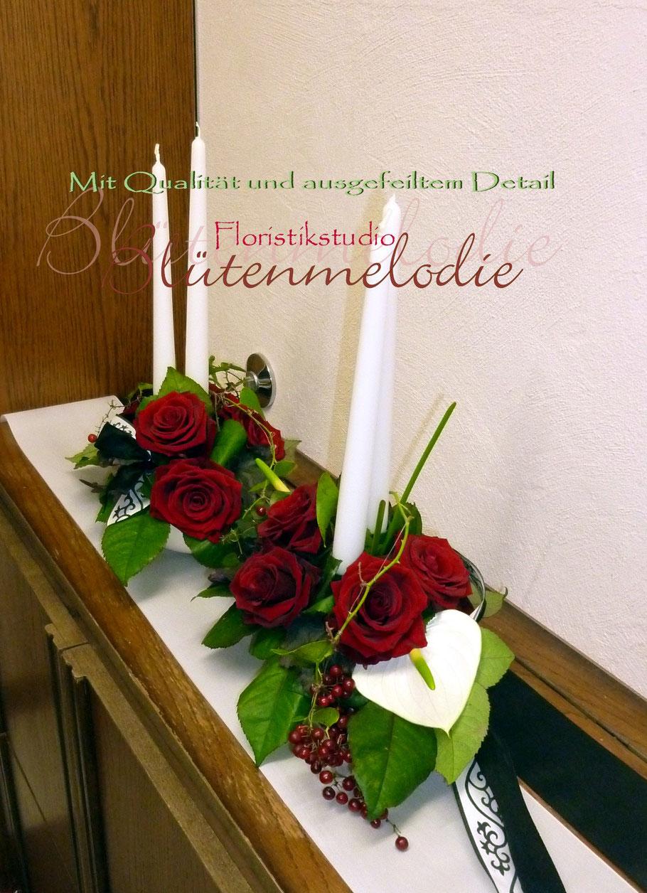 trauer quotbl252tenmelodiequot floristikstudio fr246se