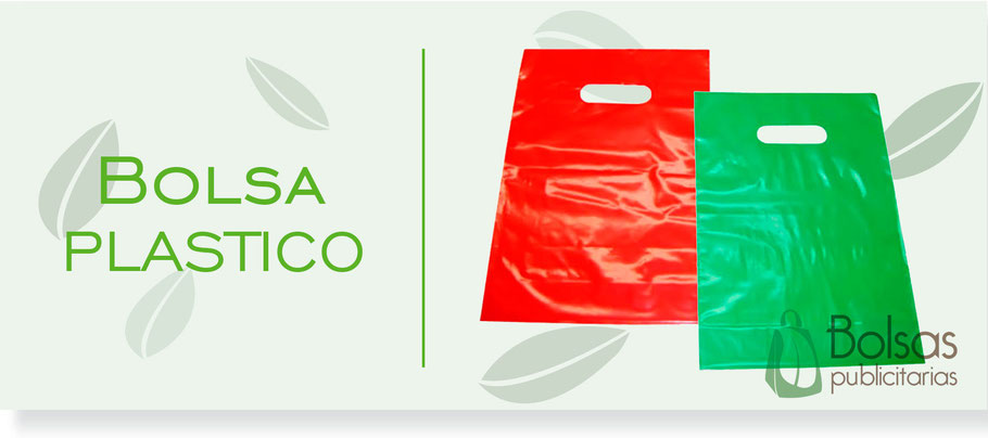 Bolsa de Plastico con Asa Suajada