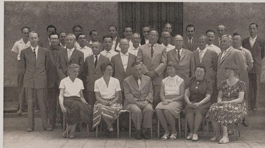 Lehrerkollegium 1961