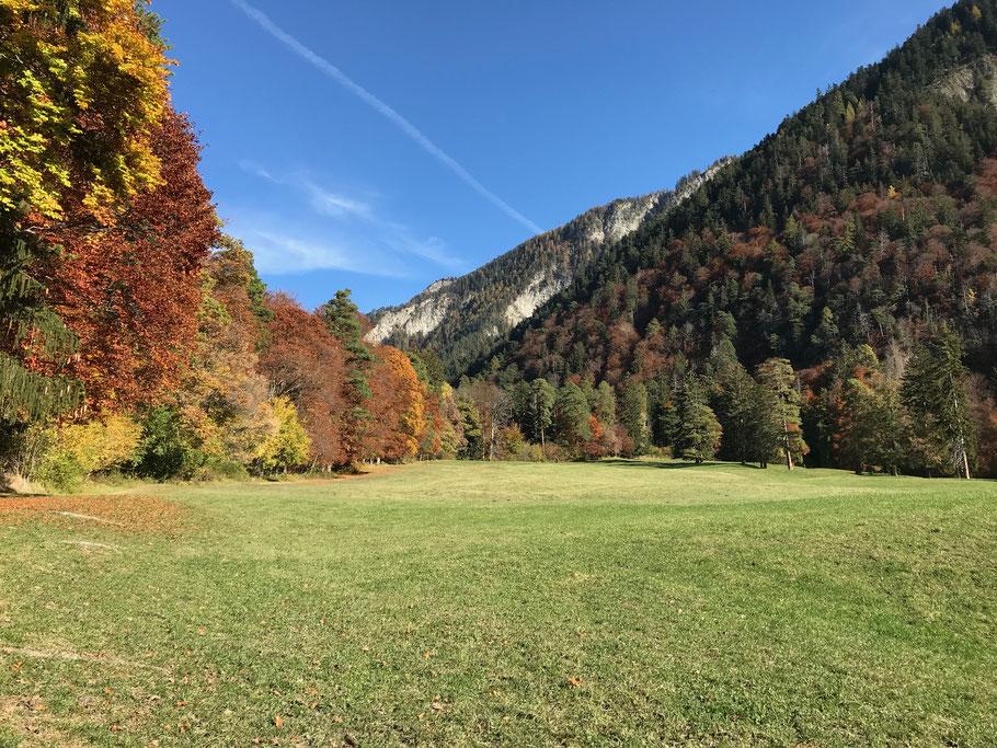 Campodels im Herbst 2020 (Foto UGN)