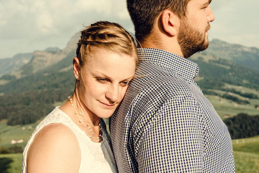 verlobungsshooting in den bergen