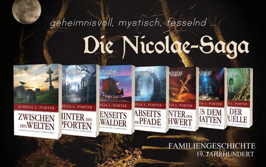 Die Nicolae-Saga von Aurelia L. Porter - Familienroman im 19. Jahrhundert - viktorianischen England und mystisches Rumänien