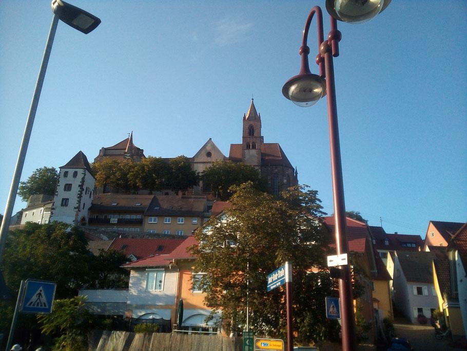 Blick auf den Münsterberg (Breisach/Foto Archiv Halbedl)