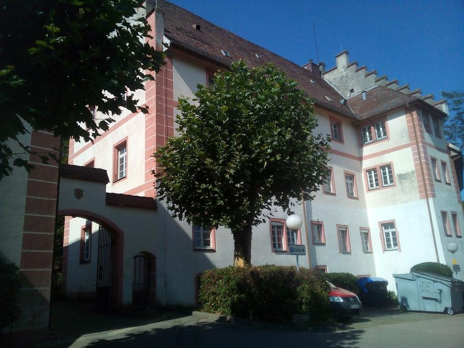 Malteserschloss in Heitersheim (Foto Archiv Halbedl)