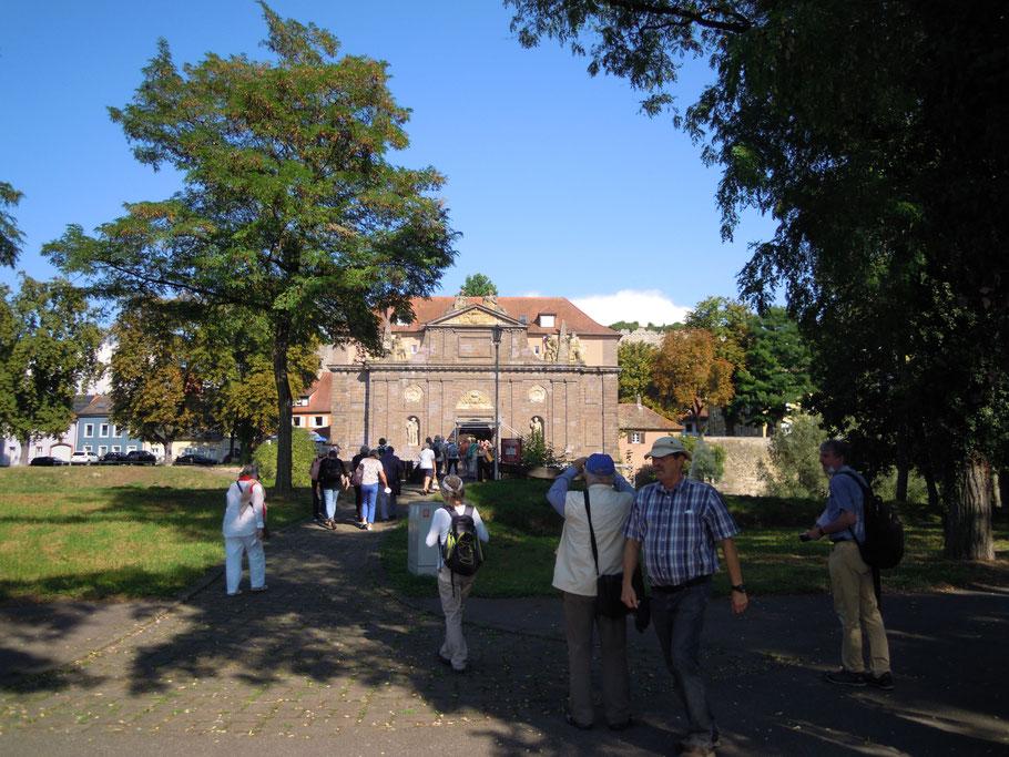 Rheintor der ehemaligen französischen Festung (heutiges Stadtmuseum von Breisach/Foto Archiv Messmer)