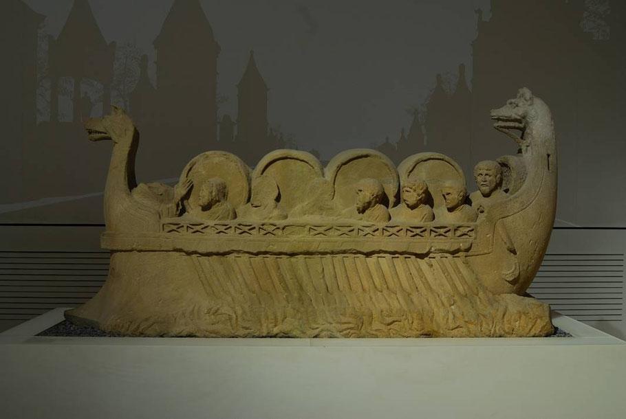 Neumagener Weinschiff (um 200 n. Chr./Foto: Joachim Maas)