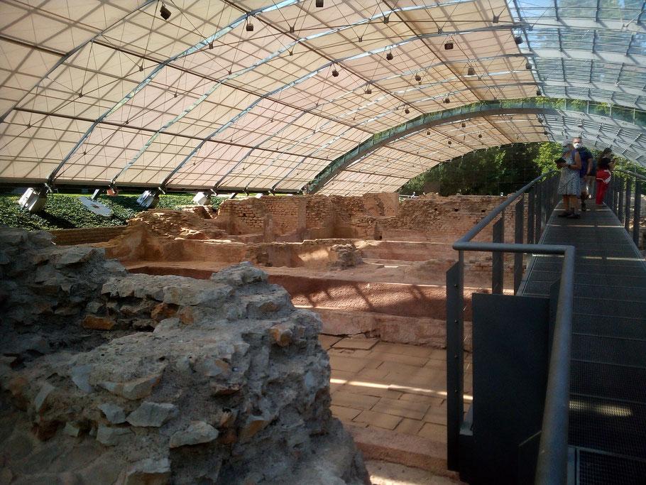 Reste der römischen Thermenanlage in Badenweiler (Foto Archiv Halbedl)