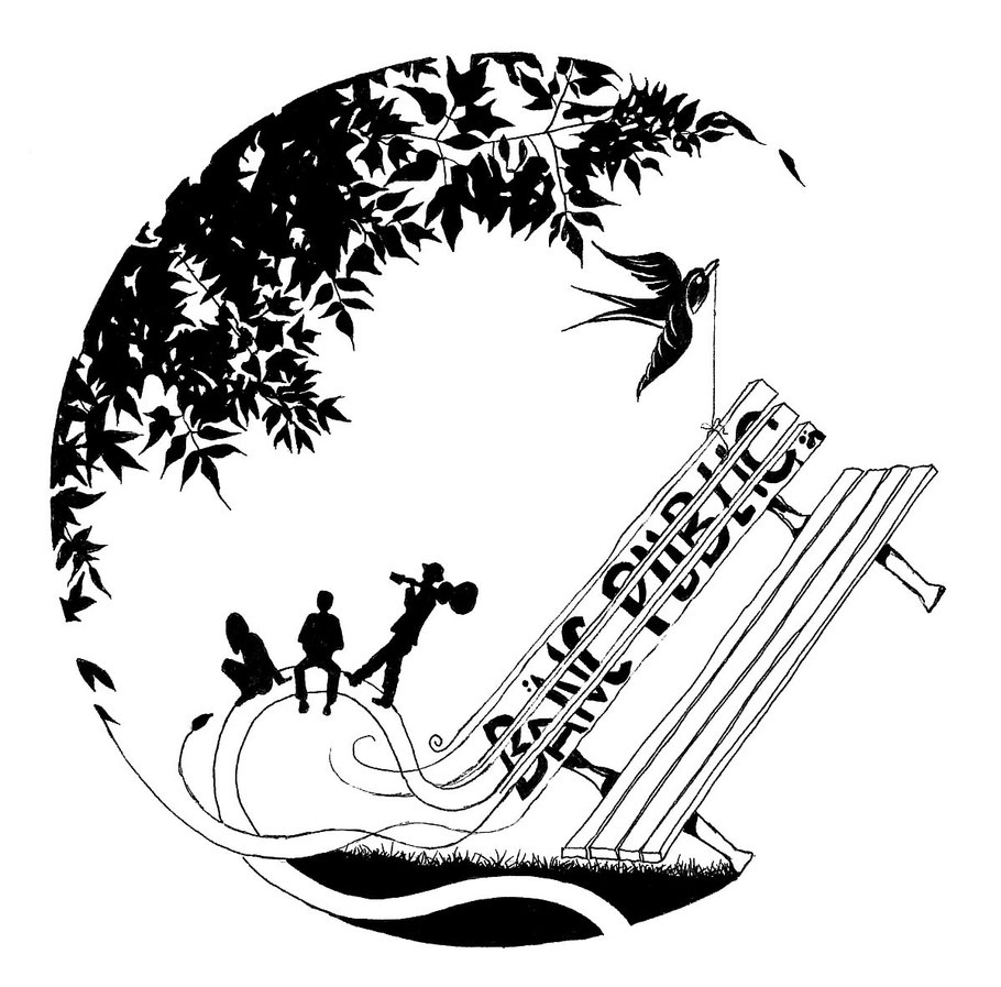 Commande: Logo pour l'association Banc Public, Commbemorel, 2015