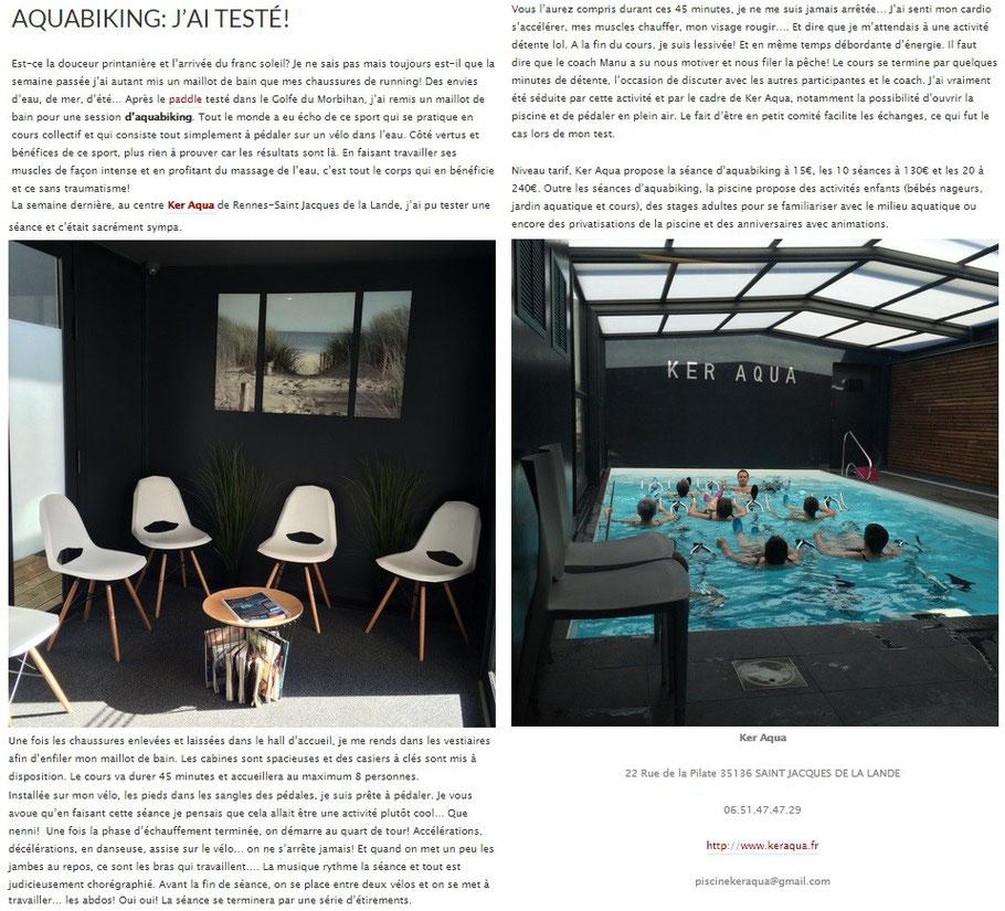 article piscine Ker Aqua de Pensées by Olivia