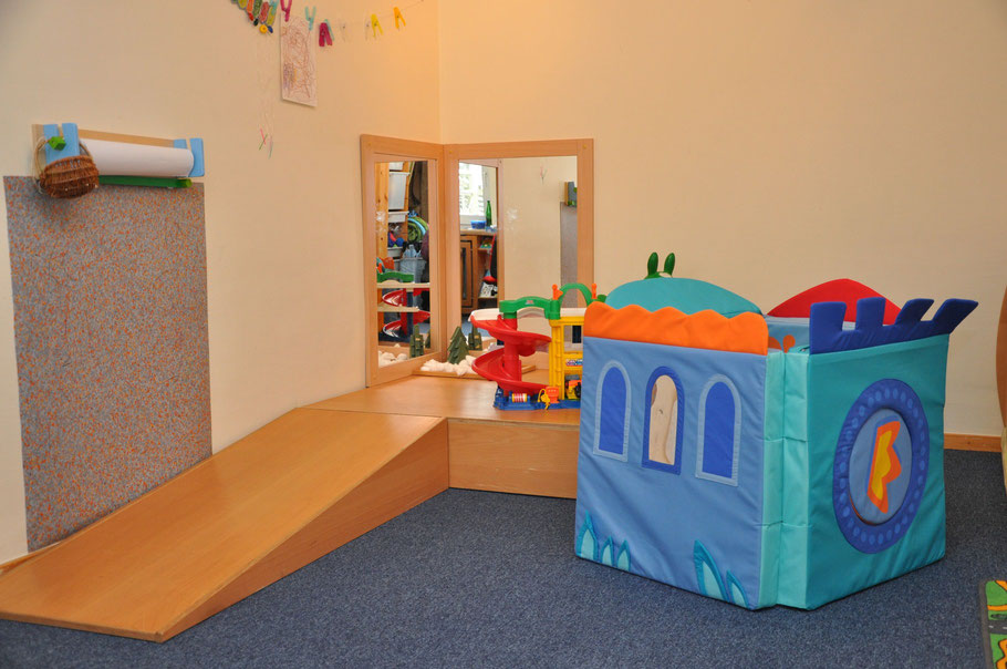 Unser U3-Zimmer. Ein Rückzugs- und Spielort für unsere Kleinsten