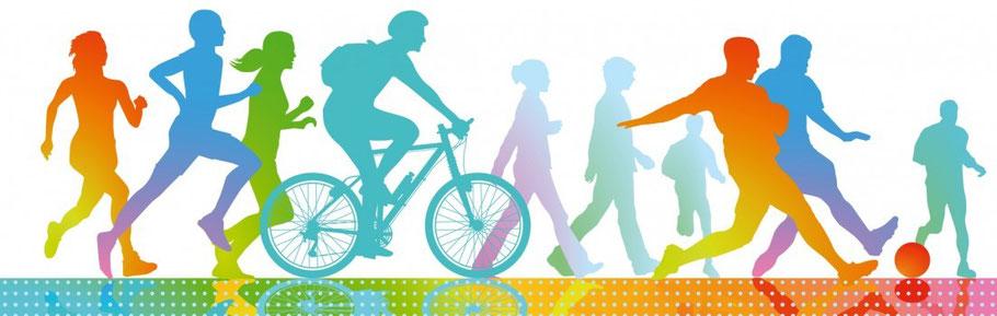 Breitensport, Gesundheit, Vereinsleben, Gemeinschaft