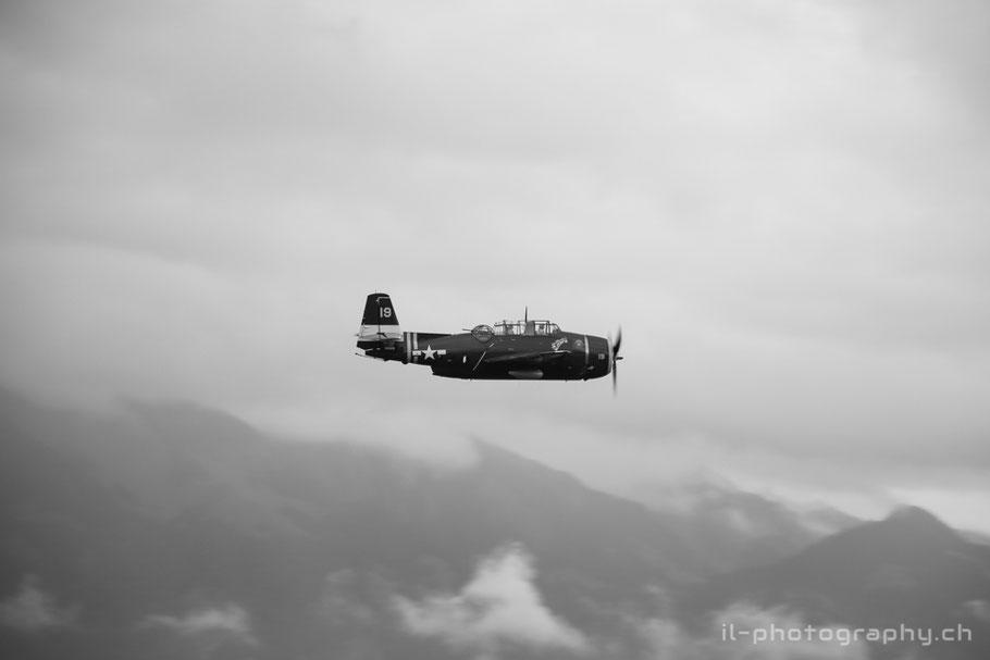 Grumman TBM Avenger HB-RDG in Thun.