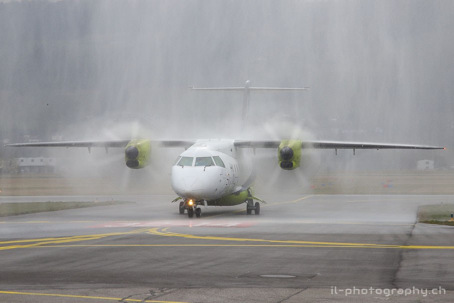 Dornier Do328 der Sky Work Airlines in Bern.
