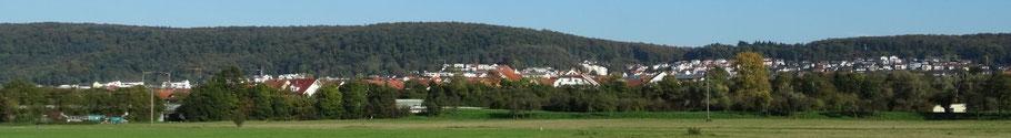 Panorama Bild Nußloch by  nussloch-wetter.de