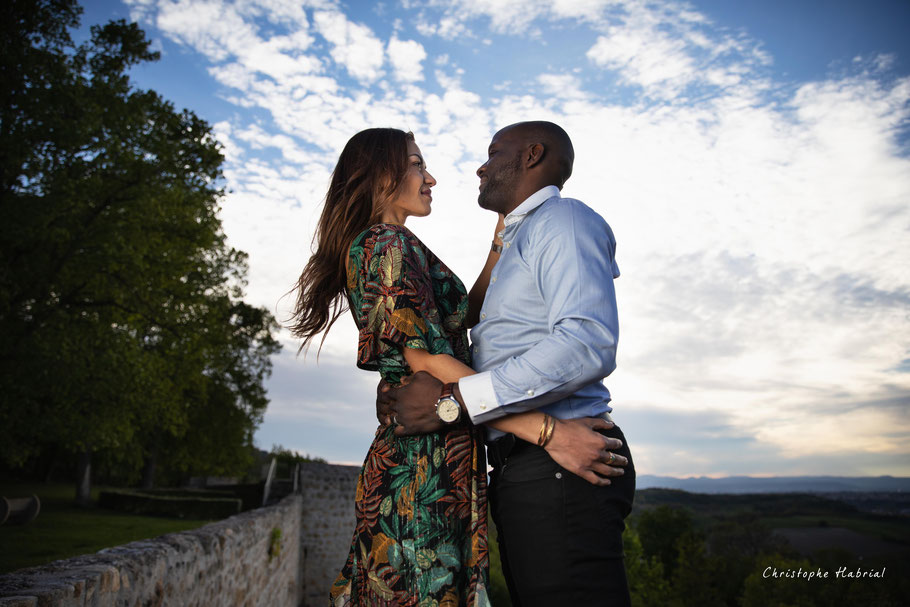 Shooting photo couple Clermont-Ferrand