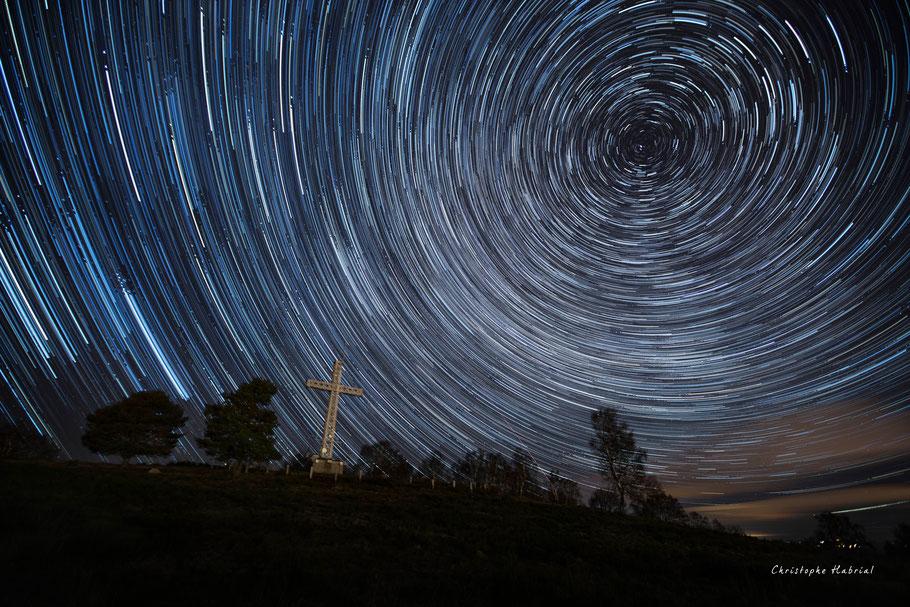 Nuit étoilée en Auvergne