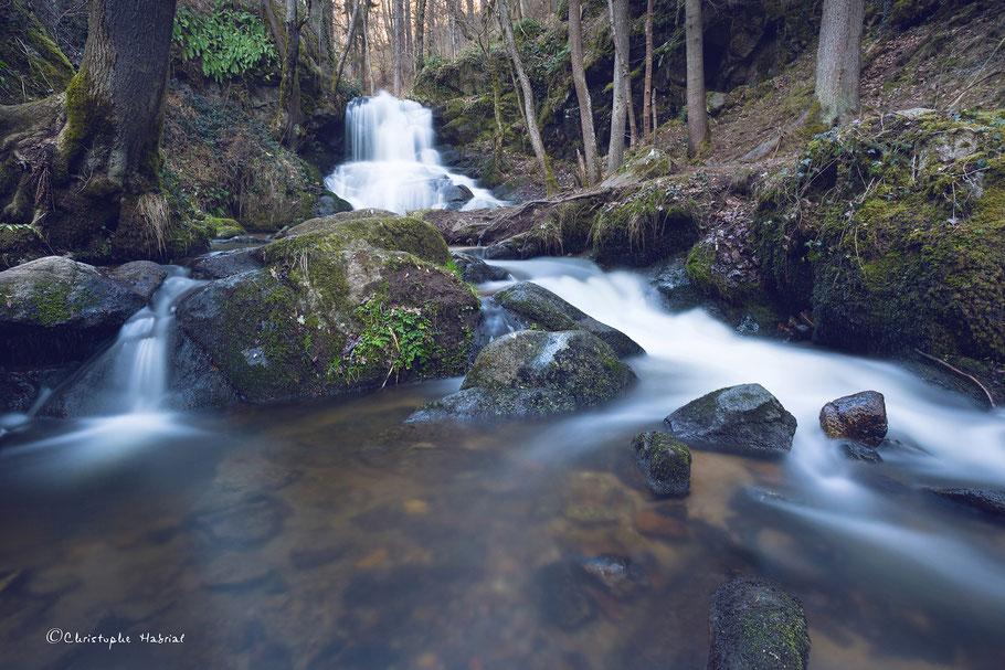 Cascade des Gorges d'Enval - 63 - iso 200 - f/11 - 30s - 20mm