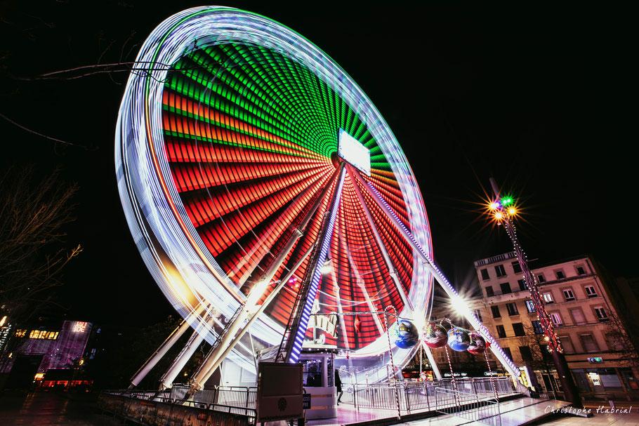 Grande roue place de Jaude Clermont-Ferrand