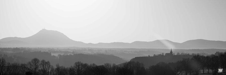 Panoramique Puy de de Dôme