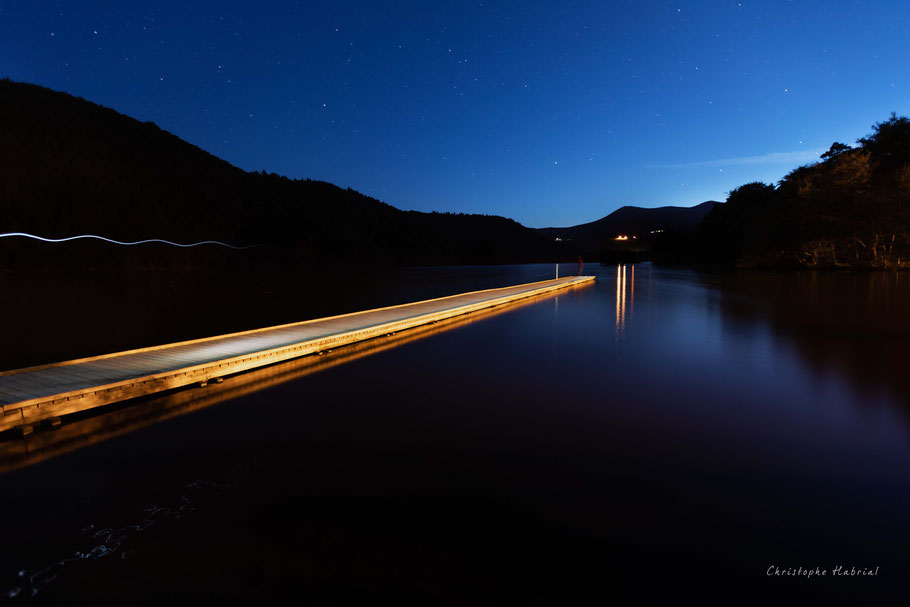Light painting lac chambon