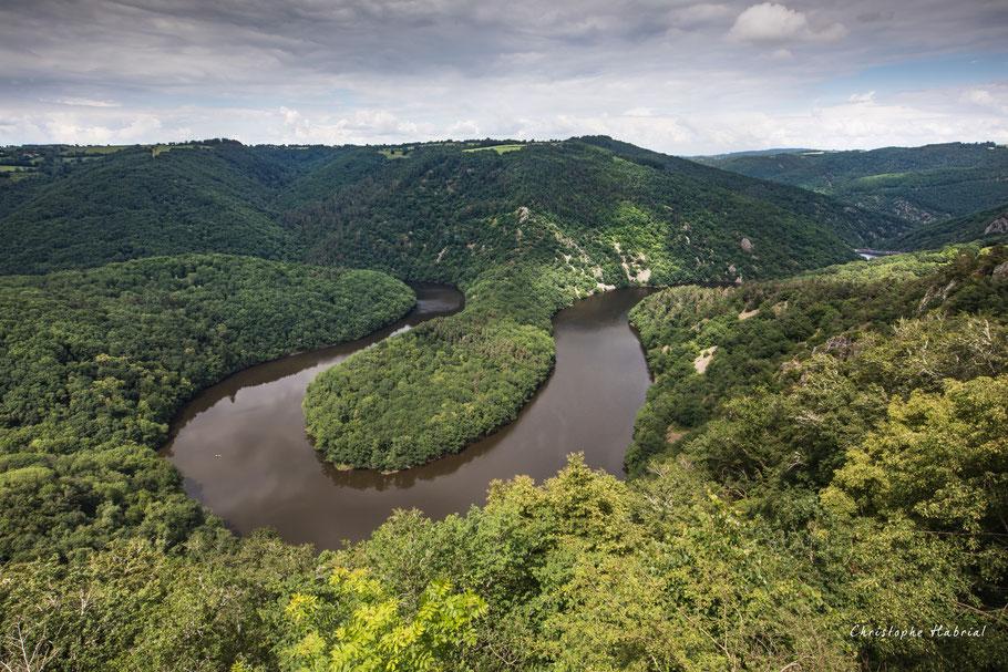 Méandre de Queuille - Auvergne