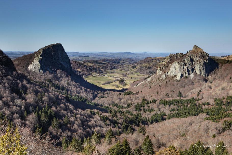Roches Tuilière et Sanadoire - Auvergne