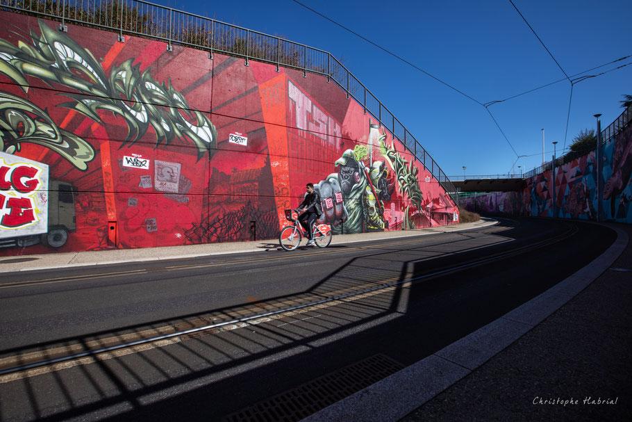 Graffs tram Clermont Ferrand