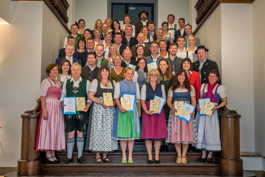 Preisträger des Goldenen Gockels 2019  (c)Maucher
