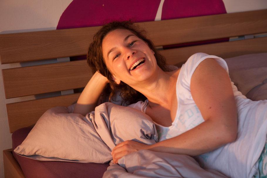 endlich schneller einschlafen mit Elisabeth