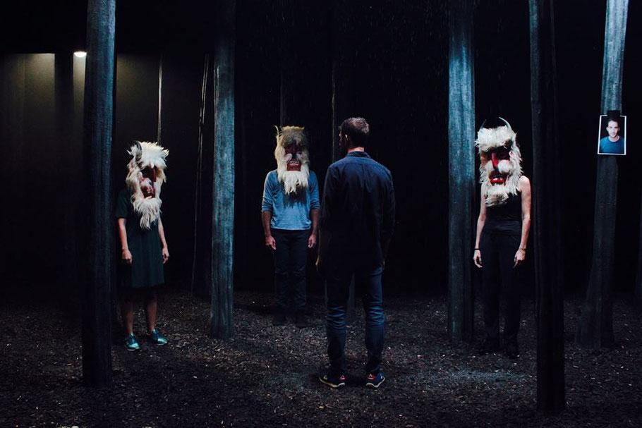 OGRES de Yann Verburgh, mise en scène Eugen Jebeleanu, à Théâtre Ouvert