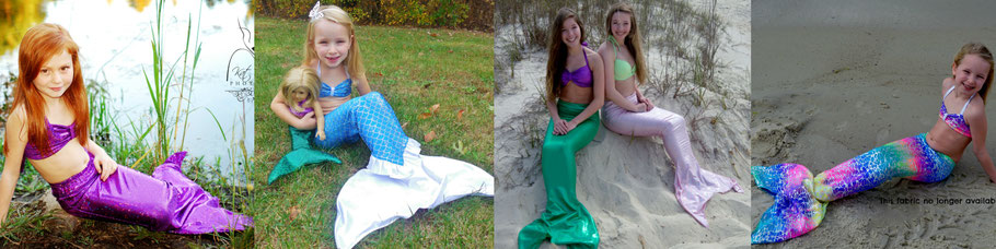 children's mermaid tails for swimming