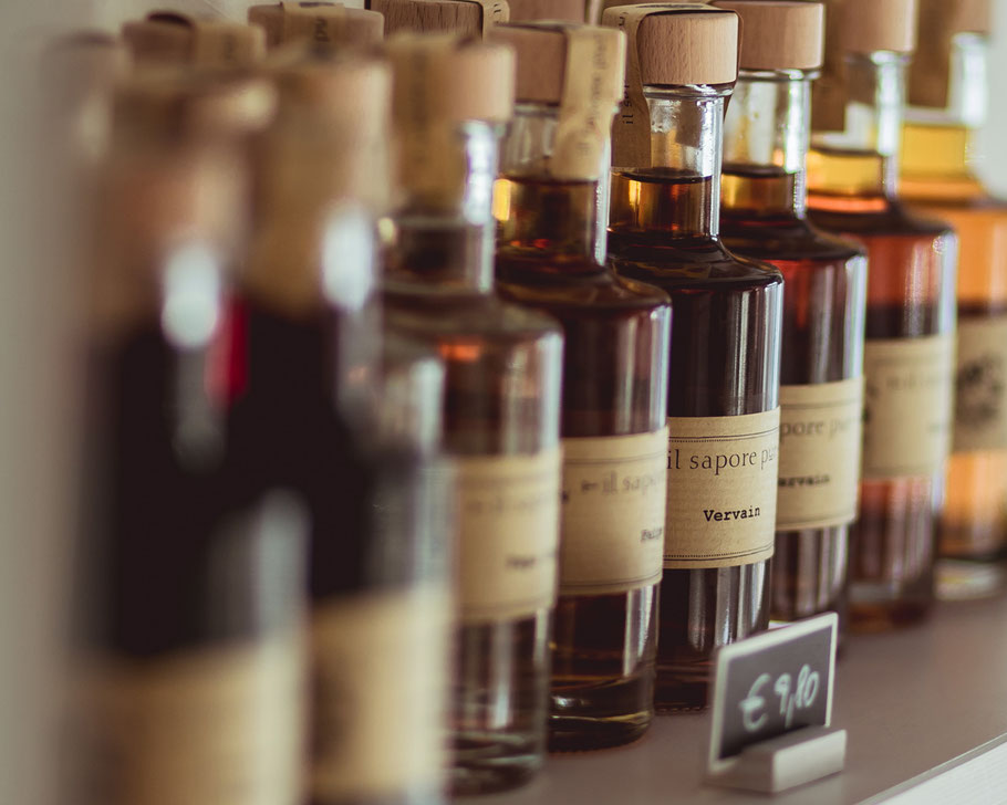 il sapore pur CI und Etiketten Exel-Rauth