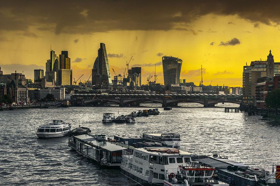 Fotoreise London, Themseblick