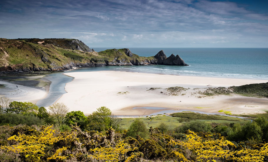 Fotoreise Wales, 3 Cliffs Bay