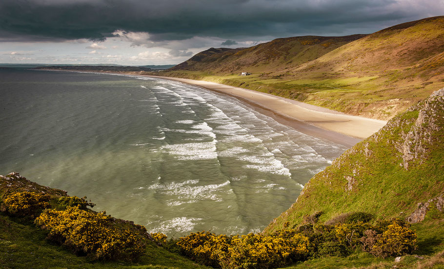 Fotoreise Wales, Rhossili Beach, Gower Peninsula