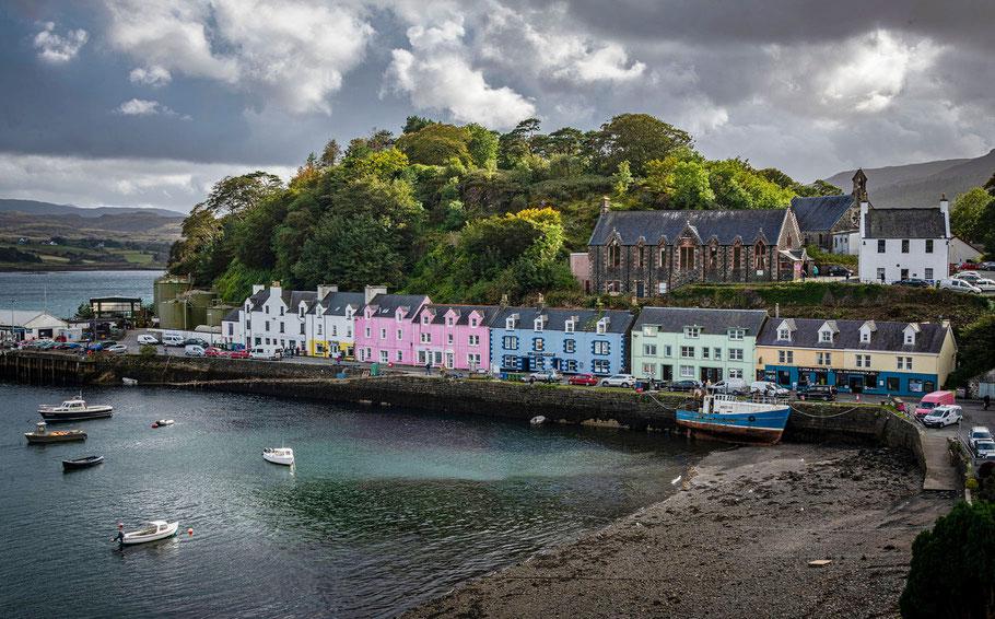 Fotoreise Isle of Skye, Fotoworkshop Schottland, Portree, Isle of Skye, Schottland