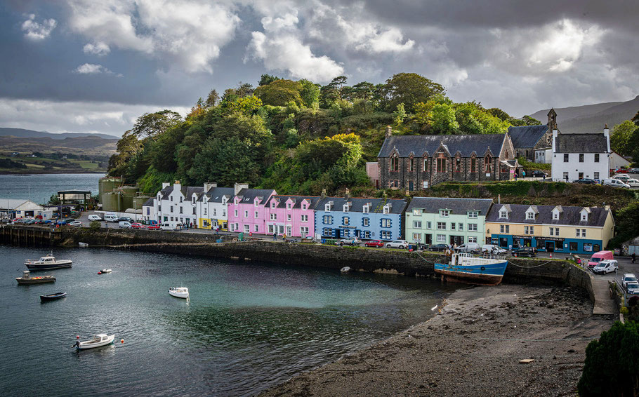 Fotoreise Isle of Skye, Fotoworkshop Schottland, Portree, Isle of Skye, Fotoreise Schottland