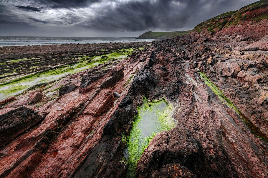 Fotoreise Wales, Manorbier Beach