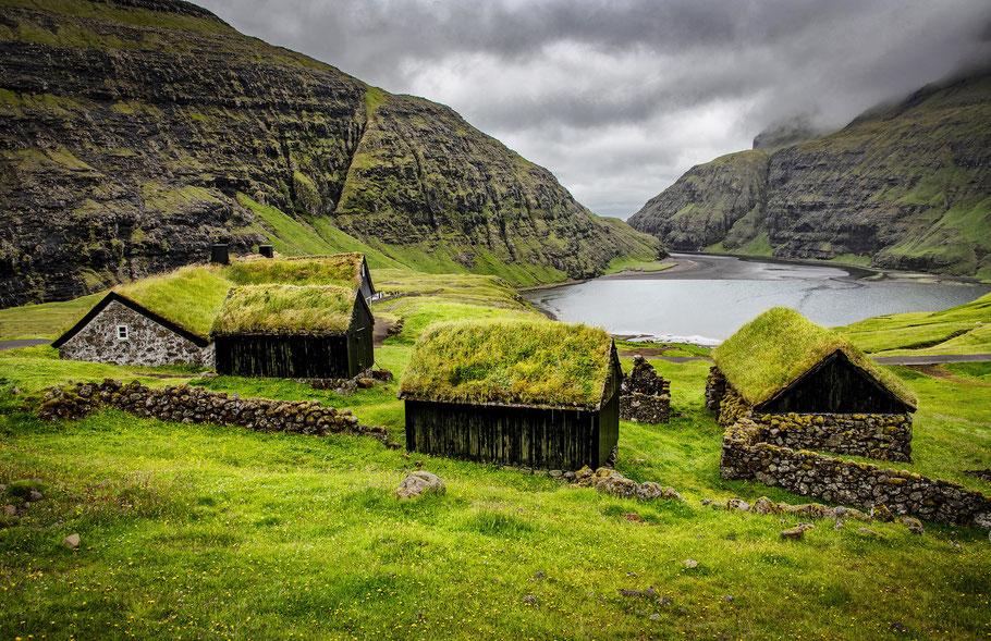 Saksun, Streymoy, Fotoreise Färöer-Inseln