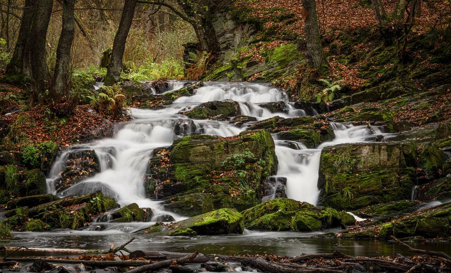 Selkefall bei Alexisbad, Fotoreise Harz